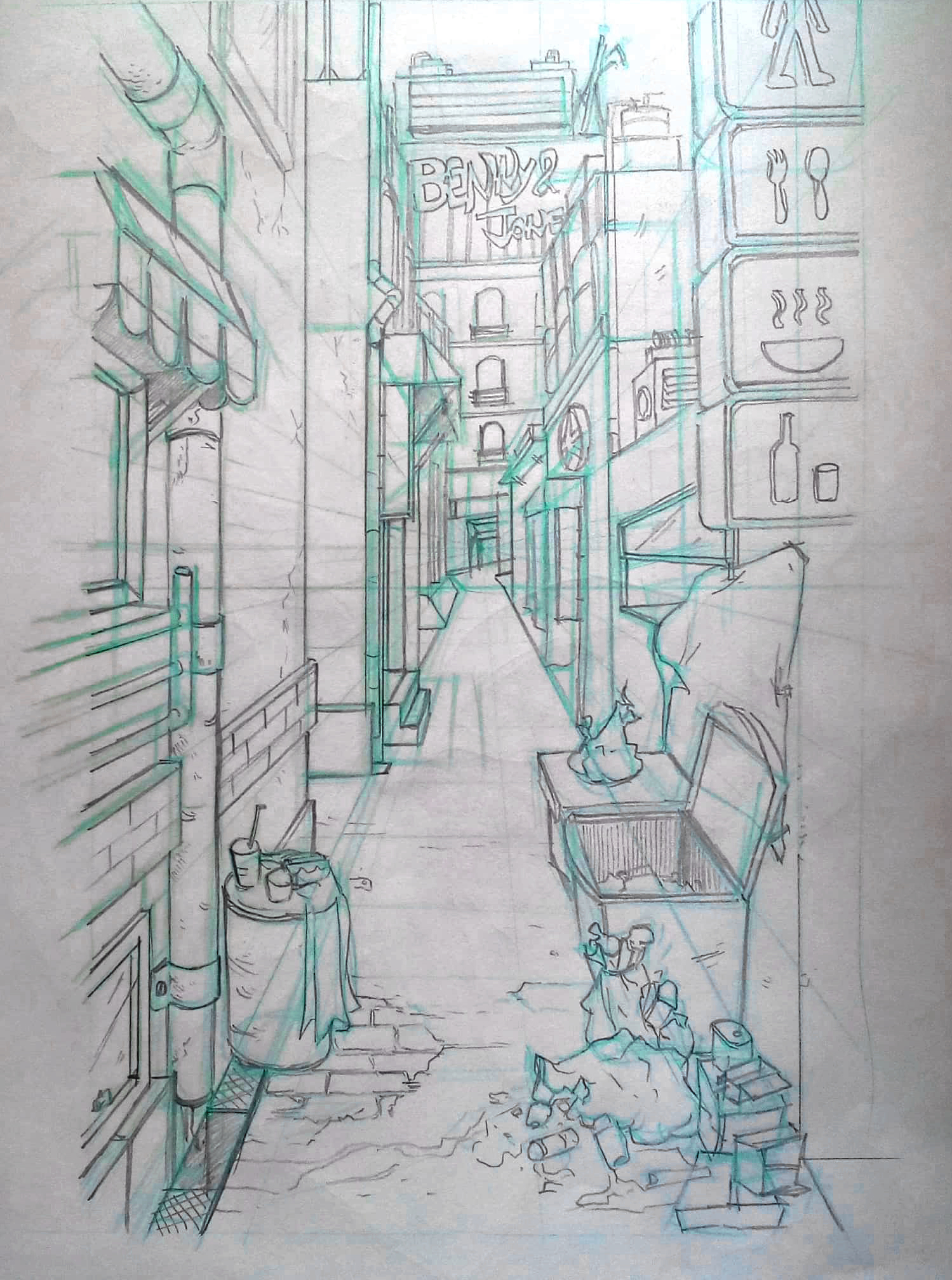 perspective drawing 1 1